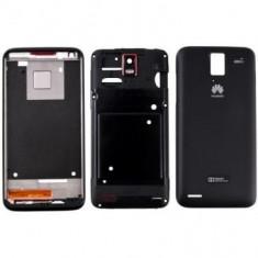 Carcasa Huawei Ascend D Quad U9510 Originala Neagra