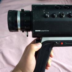 Camera video Revue Cockpit 8mm S/8 RM colectie retro 1976 metal + caseta Japan - Aparat Filmat