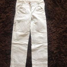 Pantaloni copii, 10-12 ani, model slimfit, de scoala. COMANDA MINIMA 30 LEI, Culoare: Alb, Unisex