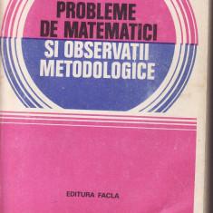 Matematica-Probleme de matematici- Udriste, Bucur
