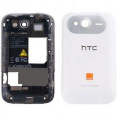 Carcasa HTC Wildfire S Originala Alba SWAP