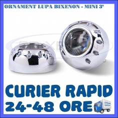 ORNAMENT LUPA LUPE BIXENON ULTRAMOTO - MODEL MINI MC-R - 3 INCH