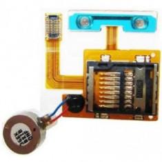 Banda cu cititor card si motoras vibrator Samsung S8530 Wave II Originala