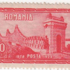 Dobrogea - 50 ani de la Unire, 1928, 20 lei, NEOBLITERAT - Timbre Romania, Nestampilat