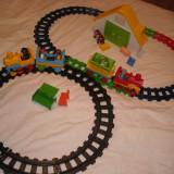 Playmobil 1-2-3 - 2 seturi trenulete de initiere pentru 1an+