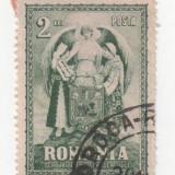 Unirea Transilvaniei, 1929, 2 lei, obliterat - Timbre Romania, Stampilat