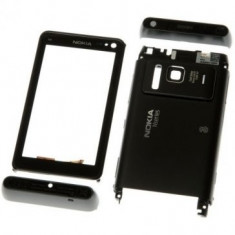 Carcasa Nokia N8 4 piese Originala Gri Inchis SWAP