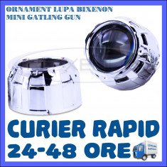ORNAMENT LUPA LUPE BIXENON ULTRAMOTO - MODEL MINI GATLING GUN - 2.5 INCH