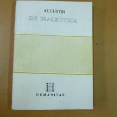 Augustin De dialectica Bucuresti 1991 - Istorie
