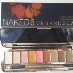 Trusa make up profesionala NAKED 6 Urban Decay 10 culori, Urban Decay