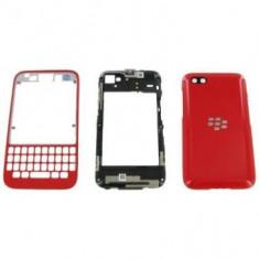 Carcasa BlackBerry Q5 Originala Rosie
