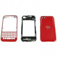 Carcasa BlackBerry Q5 Originala Rosie