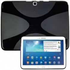 Husa silicon X-Line Samsung Galaxy Tab 3 10.1 P5220 Neagra - Husa Tableta