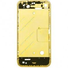 Carcasa mijloc Apple iPhone 4S Originala Aurie