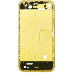 Carcasa mijloc Apple iPhone 4S Originala Aurie