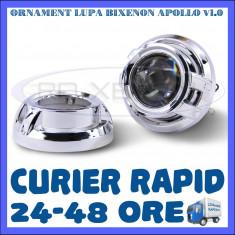 ORNAMENT LUPA LUPE BIXENON ULTRAMOTO - MODEL APOLLO V1.0 - 3 INCH, Universal