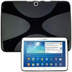 Husa silicon X-Line Samsung Galaxy Tab 3 10.1 P5200 Neagra - Husa Tableta