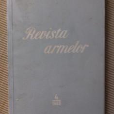 Revista Armelor numarul 4 1958 ilustrata carte hobby rara
