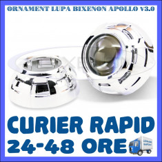 ORNAMENT LUPA LUPE BIXENON ULTRAMOTO - MODEL APOLLO V3.0 - 3 INCH