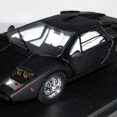 MR Models for KYOSHO Lamborghini Countach matt-black 1:43 - Macheta auto Alta