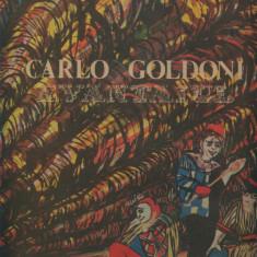 -Y- CARLO GOLDONI - EVANTAIUL ( DUBLU ALBUM ) - DISC VINIL LP - Muzica soundtrack electrecord