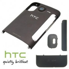 Carcasa HTC Desire HD 4 piese Originala Gri SWAP