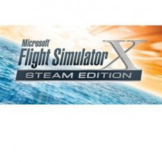 Microsoft Flight Simulator X Steam Edition Pc - Jocuri PC Microsoft Game Studios, Simulatoare, Toate varstele, Single player