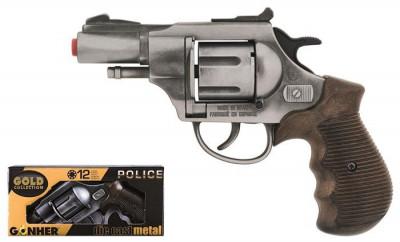 Revolver Politie Gonher Old Silver 38/1 foto