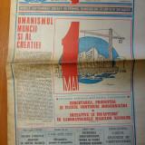 Ziarul magazin 2 mai 1987 ( nr. cu ocazia zilei de 1 mai )