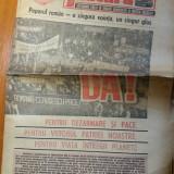 Ziarul flacara 21 noiembrie 1986 ( alegerile din noiembrie 1986 )