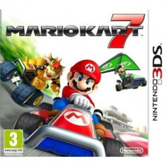 Mario Kart 7 Nintendo 3Ds - Jocuri Nintendo 3DS, Actiune, 3+, Multiplayer