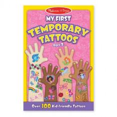 Set De Tatuaje Temporare Fetite Melissa And Doug - Jocuri arta si creatie Melissa & Doug