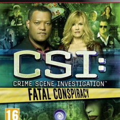 Csi Fatal Conspiracy Ps3 - Jocuri PS3 Ubisoft, Simulatoare, 16+
