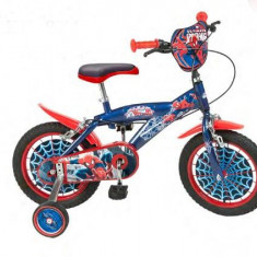 Bicicleta 14'' Spiderman - Bicicleta copii Toimsa