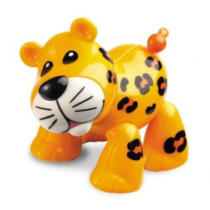 Jucarie Animal Safari First Friends Leopard Tolo - Jucarie zornaitoare TOLO Toys