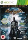 Batman Arkham Asylum Game Of The Year Edition Xbox360, Actiune, 16+, Square Enix