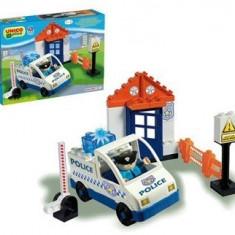 Set Constructie Unico Plus Set Politie - Set de constructie