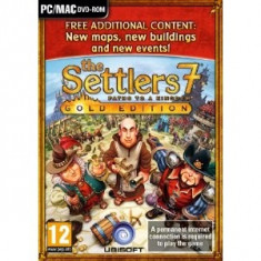 Settlers 7 Paths To A Kingdom Gold Edition Pc - Joc PC Ubisoft, Strategie, 12+, Single player