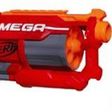 Pistol Nerf N-Strike Elite Mega Cyclone Shock Blaster - Pistol de jucarie