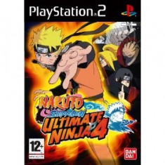 Naruto Ultimate Ninja 4 Shippuden Ps2 - Jocuri PS2 Atari
