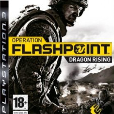 Operation Flashpoint Dragon Rising Ps3 - Jocuri PS3 Codemasters, Shooting, 16+