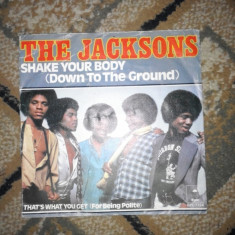 Vinyl - The Jakosn - Shake your body - Michael Jackson