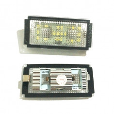 Lampa / lampi numar LED BMW seria 7 E65 / E66 - Led auto G-View