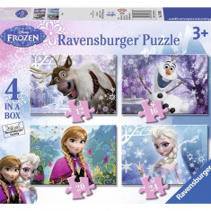 Puzzle Frozen 12/16/20/24P - Jocuri arta si creatie Ravensburger