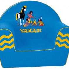 Fotoliu Din Burete Yakari - Set mobila copii