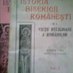 Istoria bisericii romanesti... (2 Volume) - N. IORGA (1929-1932) - Carti bisericesti