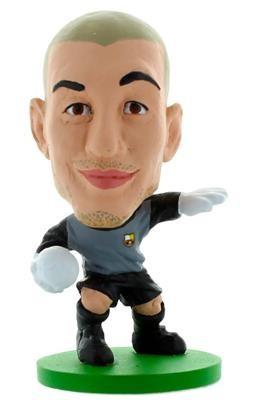 Figurina Soccerstarz Barca Toon Victor Valdes 2014 foto mare