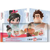 Set 2 Figurine Disney Infinity Wreck-It Ralph And Vanellope - Figurina Desene animate