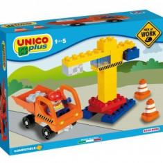 Set Constructie Unico Plus Santier - Set de constructie