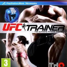 Ufc Personal Trainer (Move) With Leg Strap Ps3 - Jocuri PS3 Thq, Sporturi, 16+